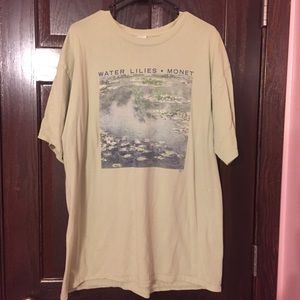 Claude Monet Water Lilies Shirt